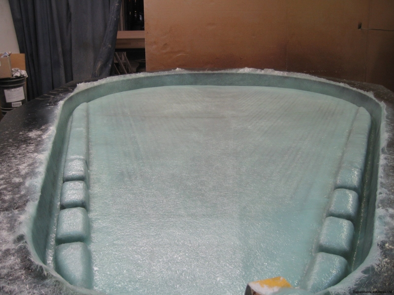 FRP and Epoxy Resin With Silicon Carbide Surface Coat