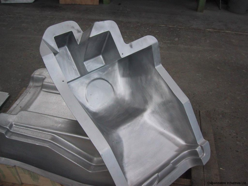 Cast aluminum rotational moulds
