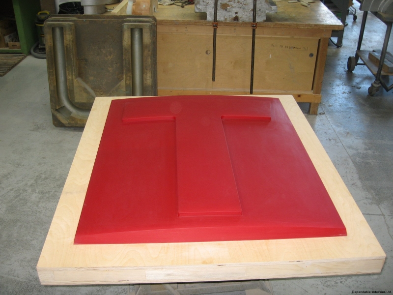 High run Vacuum mold for Transit sign